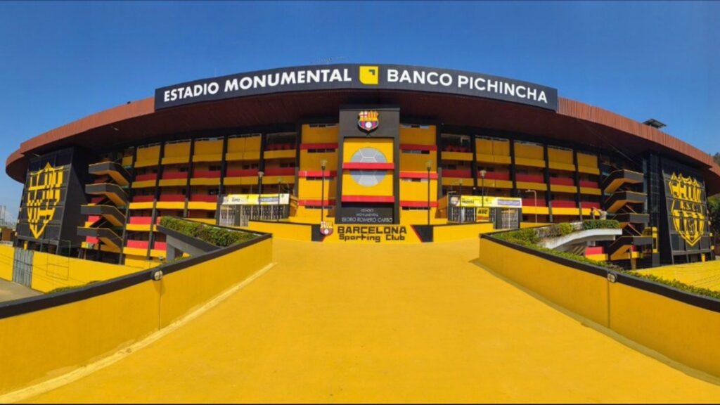 Estadio Barcelona exterior